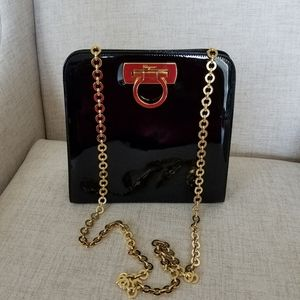 Salvatore Ferragamo Vintage Patent Leather Bag